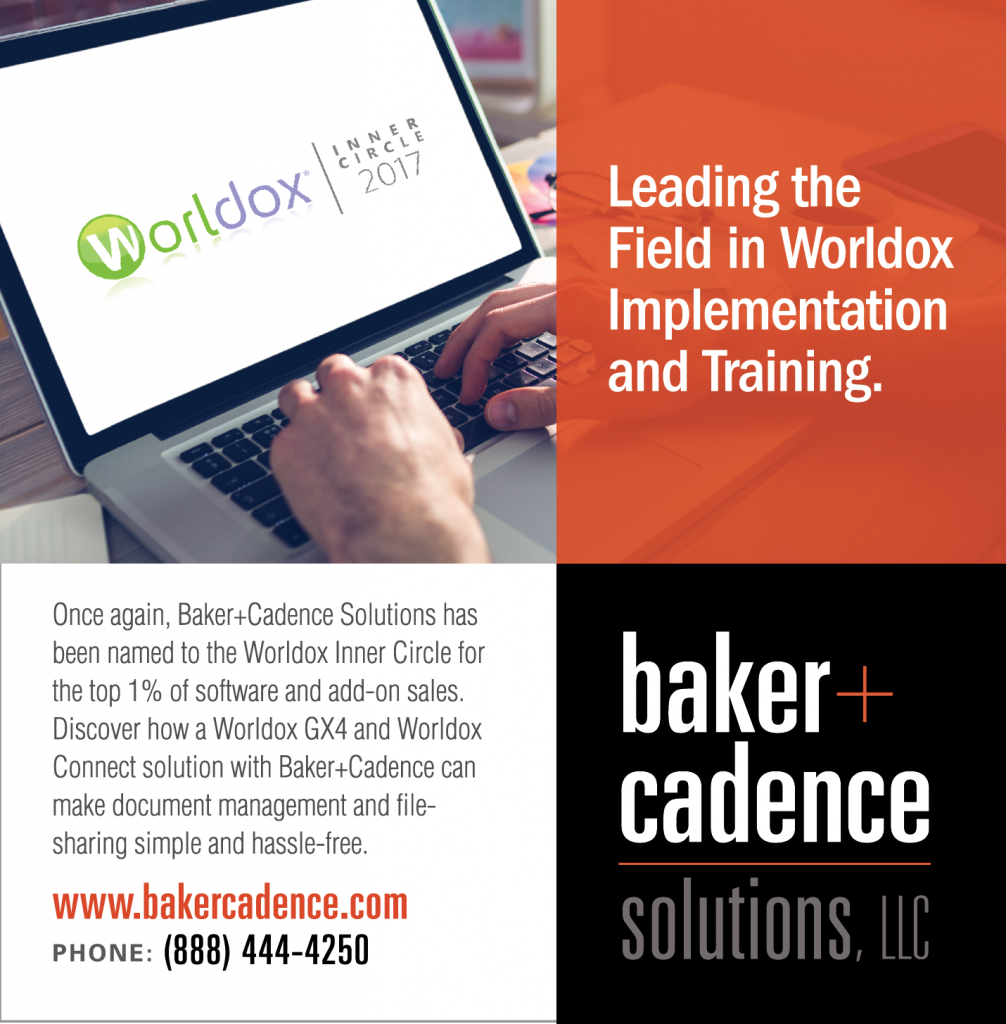 Baker+Cadence | Leaders in Worldox Training