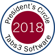 STI's President's Circle for Tabs3 2019